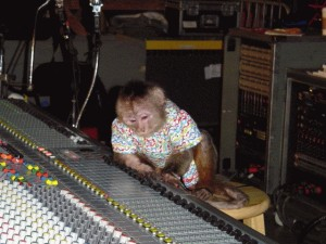 Soundmen are like monkeys, in that, if you give them shit.. they may throw it back at you when you least expect it. They may also spitefully distort your set.